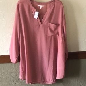 Maurice's plus Size 3/4 sleeve blouse